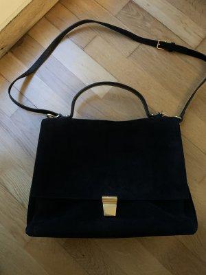 Coccinelle Verloursleder Cross-Body Handtasche