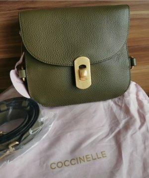 Coccinelle zaniah mini Evergreen crossbody hobo Tasche