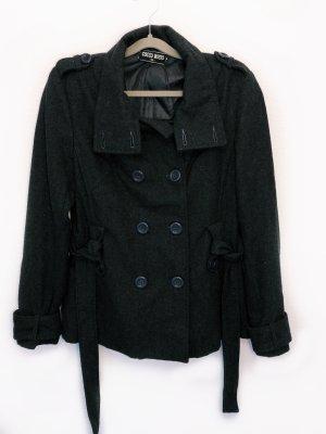 Cocco Rosso Marynarski płaszcz Wielokolorowy Wełna