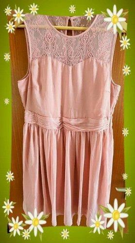 Vila Cocktail Dress dusky pink-light pink mixture fibre