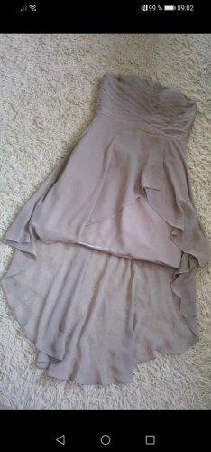 Kein Asymetryczna sukienka beżowy
