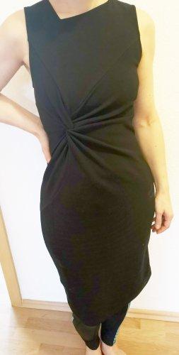 Cocktail Kleid - Abendkleid - Buisnesskleid mit Drape neuwertig