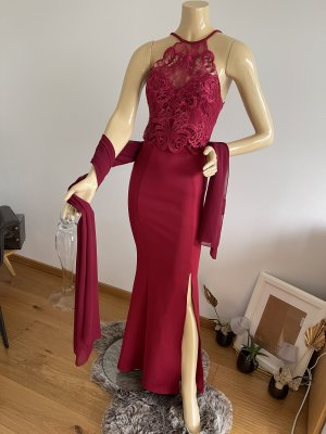 lipsy london Robe de bal rouge carmin