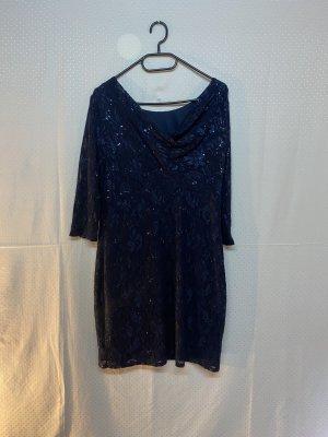 Cocktail Kleid Blau 40