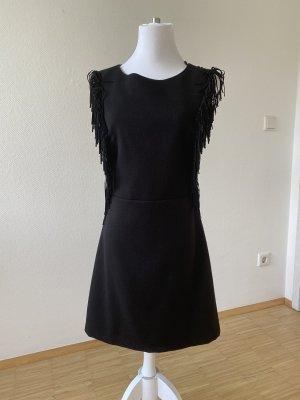 Cocktail Kleid in schwarz rückenfrei