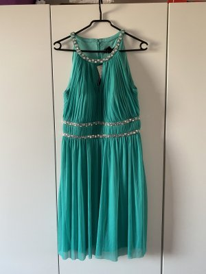 Jessica Howard Suknia balowa turkusowy-srebrny