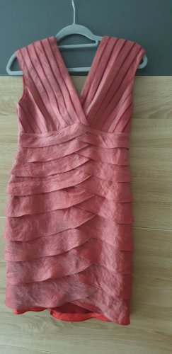 Cocktail Kleid Rot Gr. 38