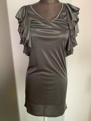 Vero Moda Vestido corte imperio gris verdoso