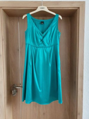 Cocktail Kleid S Oliver Selection Empire 38 40 M L Türkis grün