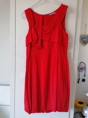 3 Suisses Sukienka koktajlowa ciemnoczerwony