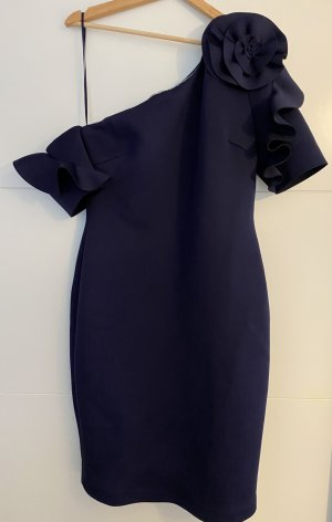 Badgley Mischka Pencil Dress blue polyester