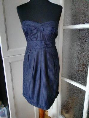 Cocktail Kleid von Dotti dunkelblau Gr. 36