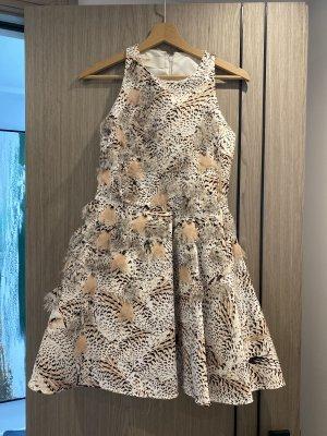 Elisabetta Franchi Cocktail Dress beige-white