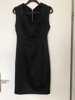 Zara Basic Cocktailjurk zwart