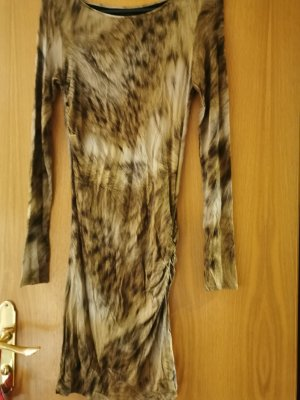 Marc Cain Jersey Dress bronze-colored