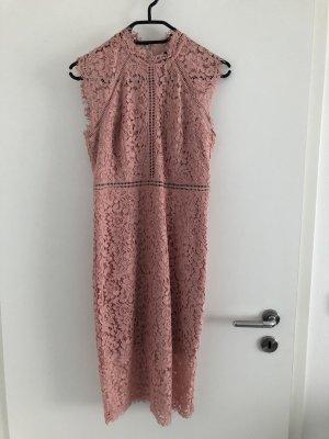 Bardot Cocktail Dress dusky pink