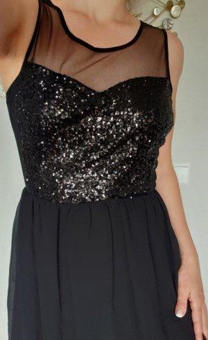 Even & Odd Sequin Dress black