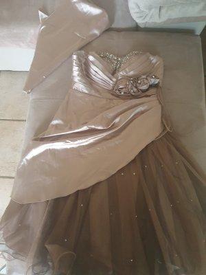 Ashley Brooke Off-The-Shoulder Dress multicolored