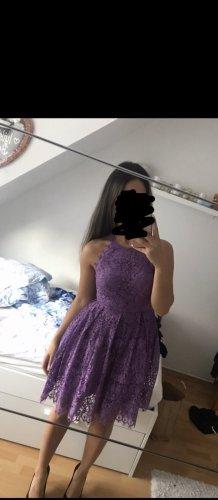 Asos Abito in pizzo lilla-viola scuro