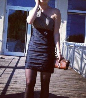 Laona Evening Dress black-grey brown