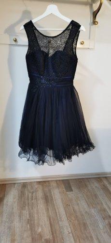 ASHWI Paris Cocktail Dress black-dark blue