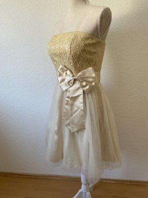 Cocktailkleid / Brautjungfernkleid / Kleid mit Schleife / Tüllkleid