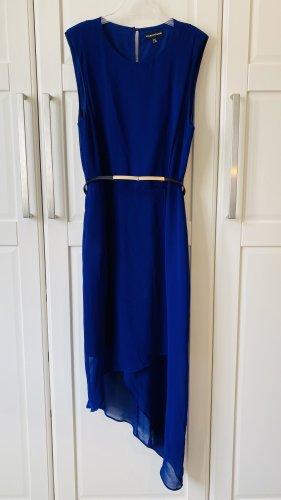 Warehouse Vestido de cóctel azul