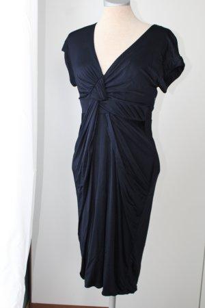 Cocktailkleid elegant Etuikleid dunkelblau Brautmutter Principles UK 8 EUR 36