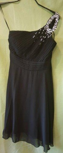 Sukienka na jedno ramię czarny