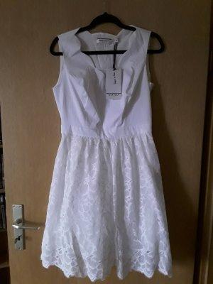 Naf naf Cocktail Dress white