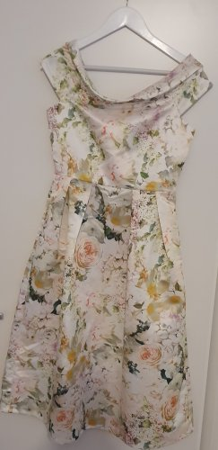 Closet London Off-The-Shoulder Dress multicolored