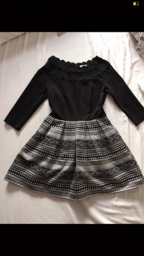 Ivivi Balloon Dress black-silver-colored