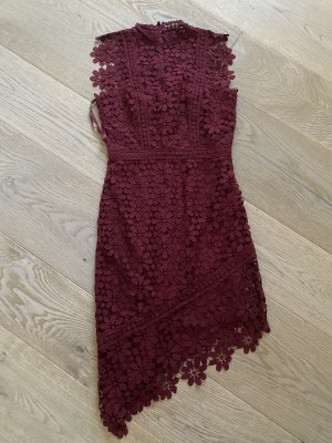 ChiChi London Lace Dress bordeaux