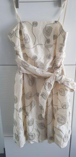 Chou Chou Sukienka bez ramiączek kremowy