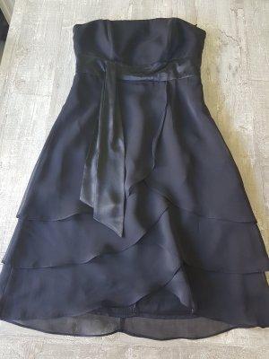 Marie Blanc Off-The-Shoulder Dress black