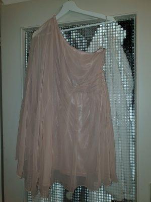 Ichi One Shoulder Dress dusky pink