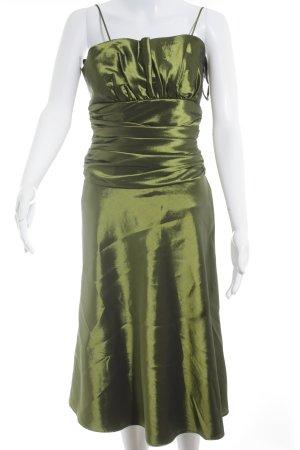 Cocktailkleid olivgrün Elegant