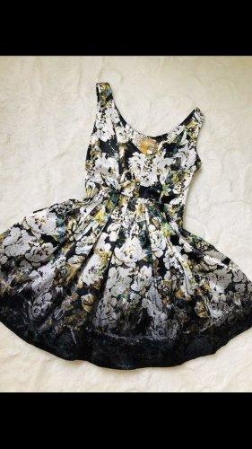 Cocktailkleid - partykleid - kleid mit blumenprint