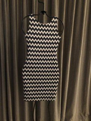 Ambiance Cocktail Dress black-white lurex