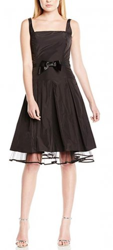 Swing Petticoat Dress black polyester