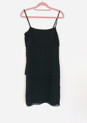Cocktailkleid schwarz Hallhuber Größe 34
