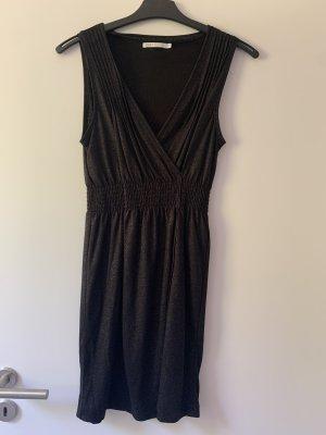 Cocktailkleid schwarz- silber