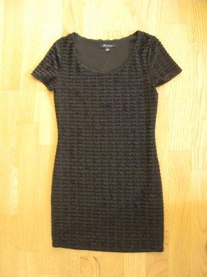 Cocktailkleid, schwarzes, enges, knappes, kurzes Kleid für junge Damen, Gr.34/36