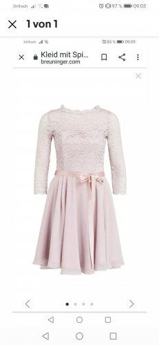 Cocktailkleid Swing apricot Gr 38