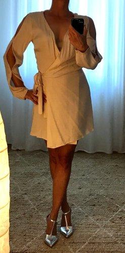 LPA Kopertowa sukienka stary róż Cupro