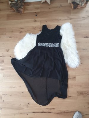 Melrose High Low Dress black