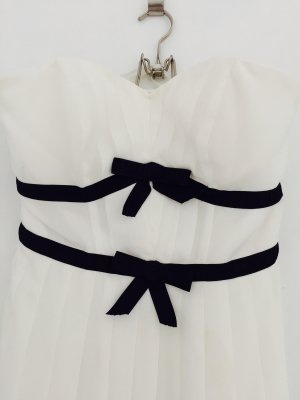 Asos Dress white-black