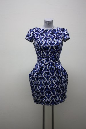 Closet Cocktail Dress blue cotton