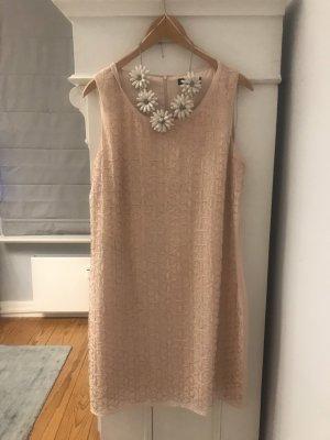 Comma Vestido de cóctel rosa-nude