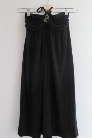 Lascana Robe de cocktail noir viscose
